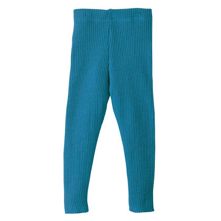 Disana Leggings blau 100% kbT Schurwolle