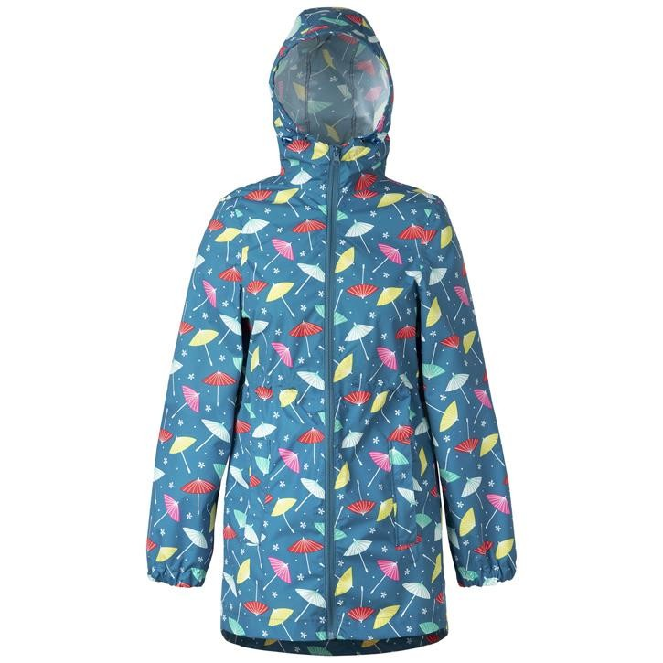 Frugi April Showers Rain Regenmantel  Multi Parasols
