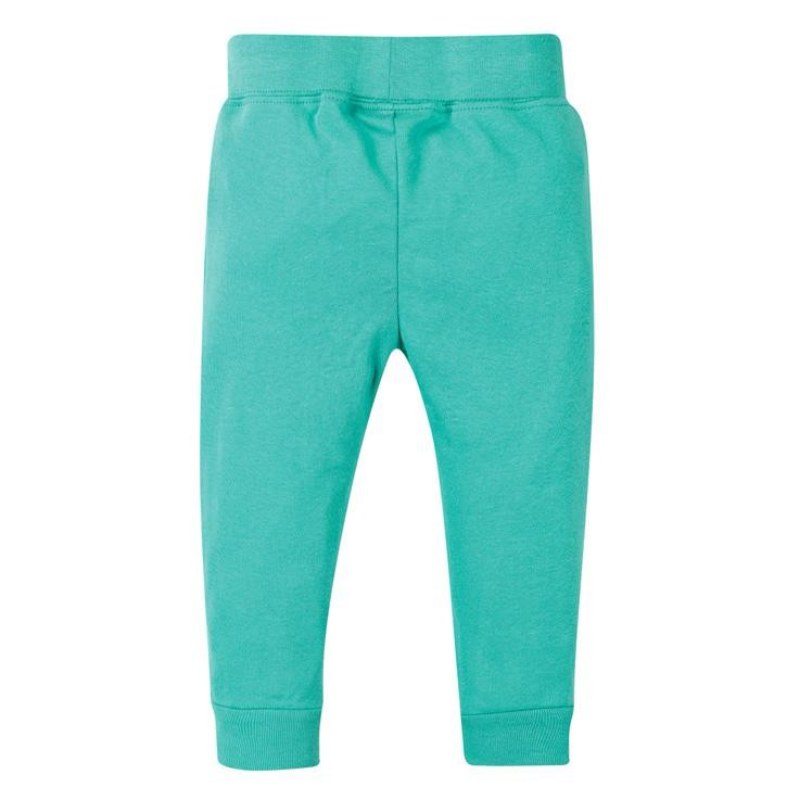 Frugi Favourite Cuffed Legging  Pacific Aqua