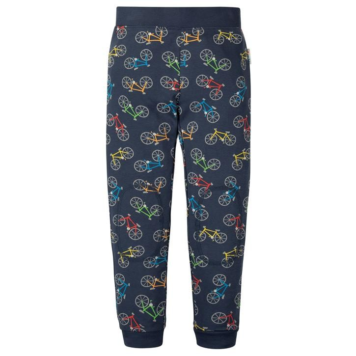 Frugi Leap About Legging  Indigo Rainbow Rides