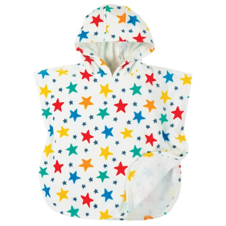 Frugi Little Havana Kapuzenhandtuch  Multi Star