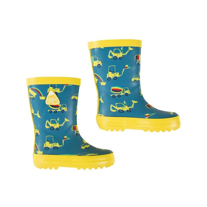 Frugi Puddle Buster Wellington Boots  Dig A Rainbow Gummistiefel
