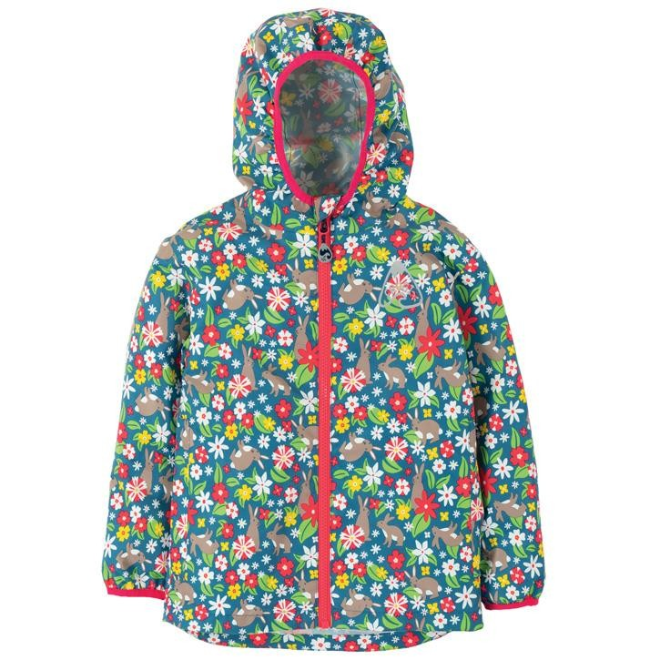 Frugi Rain Or Shine Jacke  Rabbit Fields