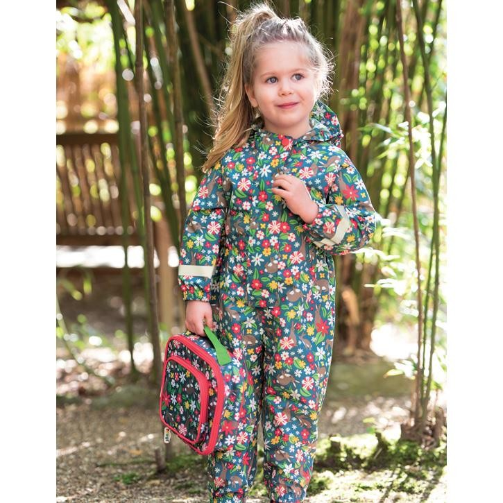 Frugi Rain Or Shine Overall  Rabbit Fields