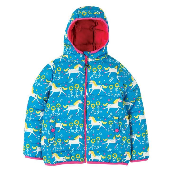 Frugi Toasty Trail Jacke  Unicorn Skates